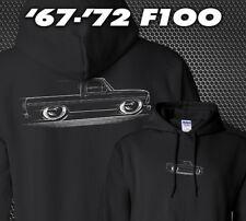 HOODIE '67-'72 Ford F100 Bumpside Truck 1967 1968 1969 1970 1971 1972 F-100