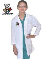 Kids Veterinarian Lab Coat with Future Veterinarian Embroidery Design