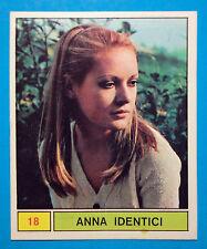 Figurina/Sticker-CANTANTI PANINI 69-n. 18 - ANNA IDENTICI -recuperata