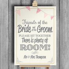 BANDIERINE INSEGNA Matrimonio personalizzata NO seduta piano SIT TOGETHER