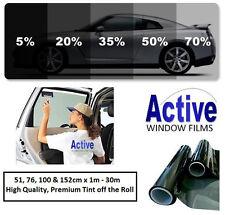Limusina Negro, medio, liviano y ultra ligero Coche Auto tinte ventana de entintado de película