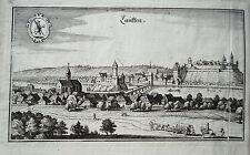 Lauffen Neckar Hölderlin Baden-Württemberg Merian Kupferstich 1643