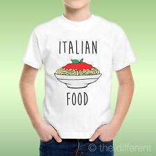 camiseta Niño niño Espagueti Italian Food Idea De Regalo