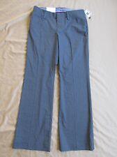 New Women's Gap Curvy Stretch Gray Dress Pants w/White Pinstripe Sizes 1 2 6 10