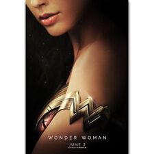 57878 2017 Wonder Woman Gal Gadot DC Decor Wall Print POSTER