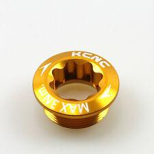 gobike88 KCNC Crank Arm Bolt, M20xP1.0, Gold, 622