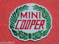 MINI COOPER ITALIAN JOB RACING WREATH SEW/IRON ON PATCH