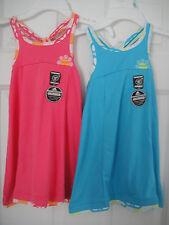 ADIDAS NWT Girls Dress Blue Pink Tank Sun Tennis Sport  JV Tech 2 2T 3 3T 5 6 6X