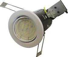 GU10 LED Inclinaison Lampe Cylindrique Projecteur Secteur 240v Coupe-feu Option