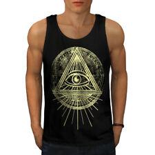 Illuminati Triangle Hommes Tank Top New | wellcoda