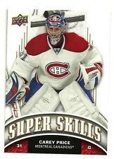 2008-09 Upper Deck Super Skills Carey Price