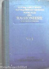 MANUALE DEL RAGIONIERE E DEL CAPO D AZIENDA Carlo Dompe Francesco Martinenghi di