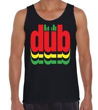 Dub Reggae Logo Men's Vest Tank Top - Bob Marley T-Shirt