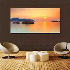 Large art prints Home Decor Canvas Painting Wall Art Seascape sunrise