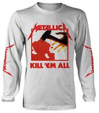 Metallica 'Kill Em All' (White) Long Sleeve Shirt - NEW & OFFICIAL!