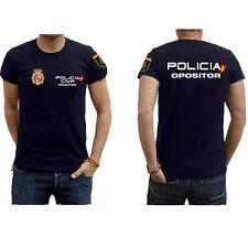 Maglietta avversario di polizia