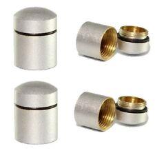 4 x Geocaching Nano Cache Behälter magnetisch Rite-in-the-Rain Logbücher silber