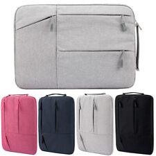 Soft Handle Zipper Laptop Sleeve Bag for Notbook Macbook HP IBM 11 13 14 15