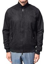 PHIX CLOTHING BLACK SUEDETTE STRETFORD HARRINGTON MOD CLOTHING RETRO SOUL MODS