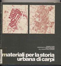 MATERIALI STORIA URBANA CARPI Comune 1977