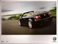 2011 11 VW EOS original  brochure MINT