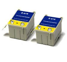 2x colore COMPATIBILE (NON OEM) Cartucce di inchiostro per sostituire t018 Girasole