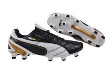 Puma King SL Classico FG black/white/puma gold Herren Fußballschuhe 103329 01