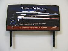 Intercity - Sentimental Journey - Model Railway Billboard - N Gauge & OO Gauge