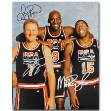 142980 Michael Jordan Larry Bird Basketball Star Wall Poster Print Affiche