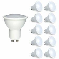 10 X GU10 LED Bombilla de larga vida 5 W = 50 W Foco Ahorro De Energía