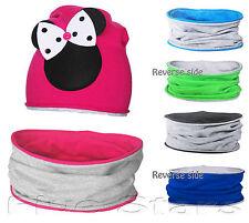 Baby/toddler/kid boy/girl cowl snood cotton reverse circle scarf 1-10 years