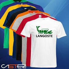 Camiseta langoste langosta parodia lacoste divertido humor (ENVIO 24/48h)