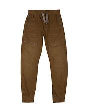 Los niños chinos Pantalones, Camello (habano), seis bolsillos Cintura Ajustable ex M&S Tamaño 5-14
