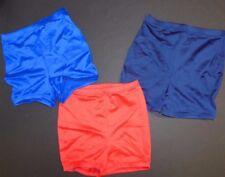 NWOT BoyCut Shorts high waist 4 Colors  Spandex Dance Cheer Satinfnsh ch/ladies