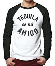 Tequilla es mi Amigo - Tequila Patron Shots Gift Party Men Baseball Top