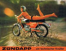 Zundapp Girl anuncio vintage de Superdry. 12 Tamaños. Moto, motocicleta, Motociclista De Regalo