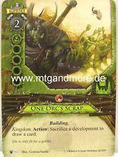 Warhammer Invasion - 1x One Orc's Scrap…  #112