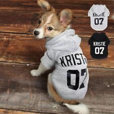 Custom Personalized Design Dog Puppy Hooded Jacket Coat Pet Clothes Sweatershirt