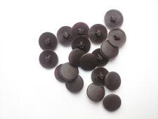 WENGE Dark Brown Screw Caps Covers Pozi Head 11mm Push Fit Furniture SPAX New
