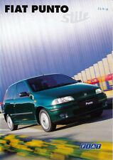 Fiat - Punto - Stile - Prospekt - 04/1998 - Deutsch - nl-Versandhandel