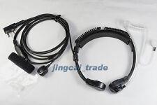 Heavy Duty Throat Vibration Mic for KENWOOD PUXING WOUXUN BAOFENG Weierwei radio