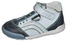 Buckle My Shoe Boys Blue Leather Shoes Various Sizes NIB