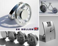 Modern Aluminium Desk Table Clock Home Decoration Birthday Gift Idea for Mother