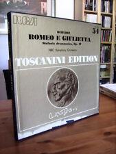 LP  ROMEO E GIULIETTA Toscanini Edition  2 LP PROMO '75