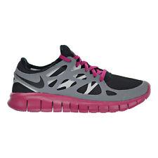 Nike Free Run+ 2 EXT Women's Shoes Black/Cool Grey/Sport Fuchsia 536746-001