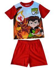 Boys Ben 10 Official Shorty Pyjamas Boys Short Sleeve Pyjamas  PJs Set Age 3-8