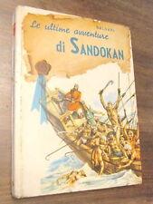 LE ULTIME AVVENTURE DI SANDOKAN SALGARI ED. CARROCCIO