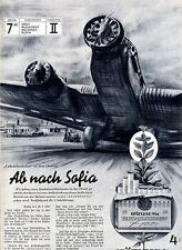Spätlese O/M --Columbusfahrt in den Orient-Ab nach Sofia -Werbung 1937 -
