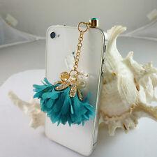3.5m Flower Anti dust Plug stopper Charm Ear Cap iphone/ipad Ear cap Dock Cover