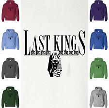 Tyga LAST KINGS T-Shirt Hoodie Sweatshirt Pharaoh Egyptian Tut HipHop Music Hood